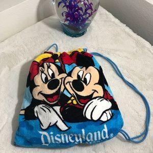 Disneyland Exclusive 2 in 1 Beach Towel/ Tote